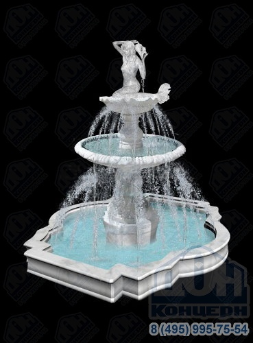 фонтан картинка с размерами